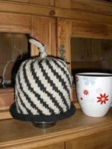 Candy Cane Mütze aus Rowan Cashsoft DK