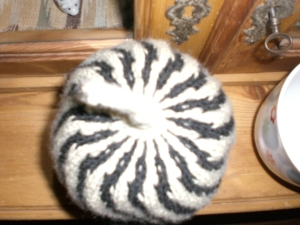 Candy Cane Mütze