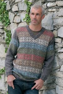 Modell Filemon aus der Qualität Perenne:70%Wolle-30%Leinen