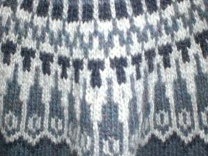 Das Muster aus Alafoss Lopi