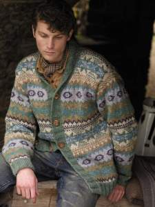 Rowan Modell:Shetland Mens von Marie Wallin